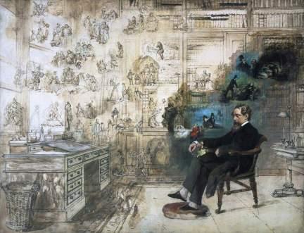 Buss, Robert William, 1804-1875; Dickens's Dream