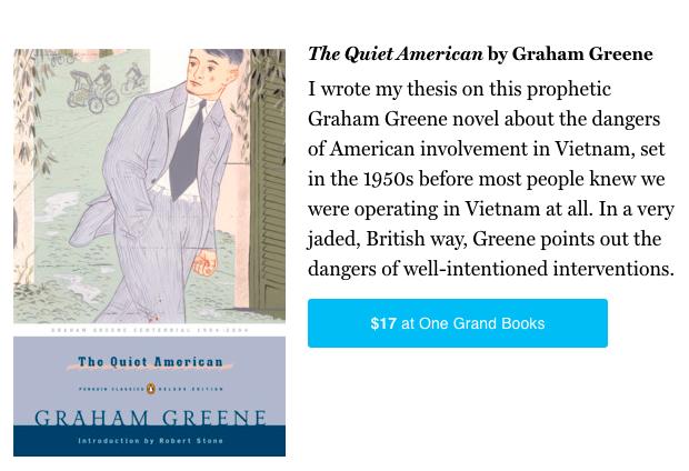 the quiet american innocence